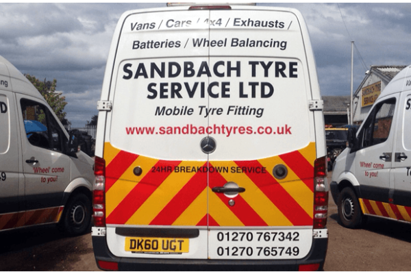 mobile tyre repairs, Sandbach, M6, A500, South Cheshire